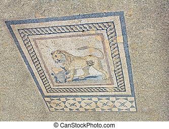 türkei, wohnhaeuser, innenseite, archäologisch, daheim, ephesus, ruinen