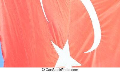 türkisch, flaggen