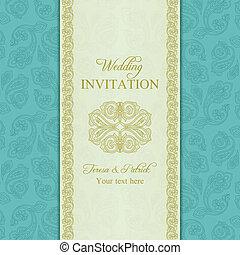 Einladung Turkisch Gurke Gold Wedding Antikes Gold Turkisch