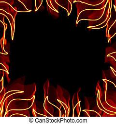tüzes, keret