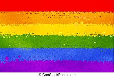 tęcza koloruje, bandera, tło, lgbt