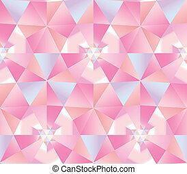 tło., abstrakcyjny, diament, trójkąt, seamless