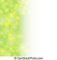 tło, abstrakcyjny, przelotny, squares., wektor, zielony, backgrabstract, illustrationound, kwadraty, przeźroczysty