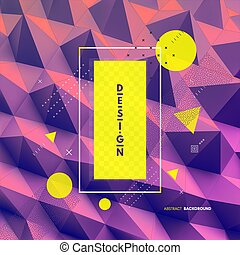tło., abstrakcyjny, wektor, illustration., 3d