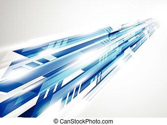 tło, abstrakcyjny, wektor, ilustracja technologii