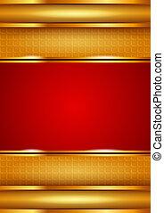 tło, czerwony, szablon