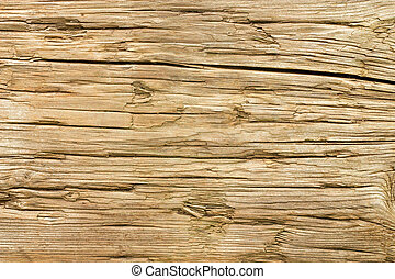 tło., drewno, stary, zwietrzały, struktura
