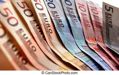 tło, euro