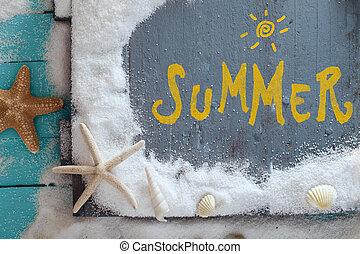 tło, lato