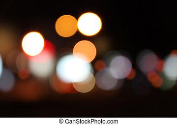 tło, miasto, życie nocne