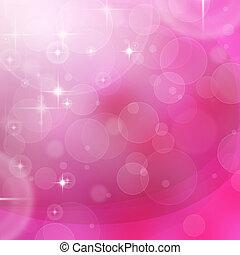 tło, różowy, abstrakcyjny