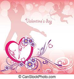 tło, valentine dzień