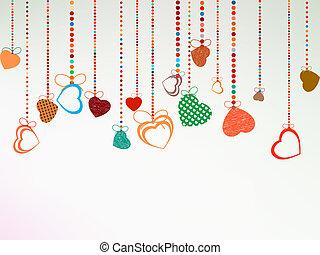 tło., valentine, eps, dzień, 8