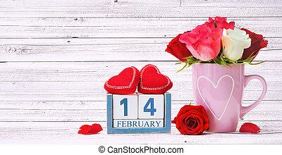 tło, valentines dzień