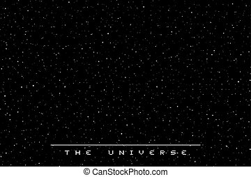 tło, wszechświat