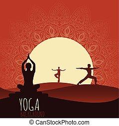 tło., yoga