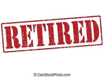 tłoczyć, emerytowany