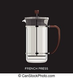 tłoczyć, francuski
