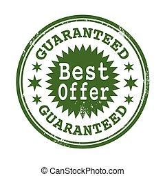 tłoczyć, guaranteed, najlepszy, oferta