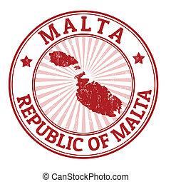 tłoczyć, malta