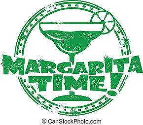 tłoczyć, margarita, czas