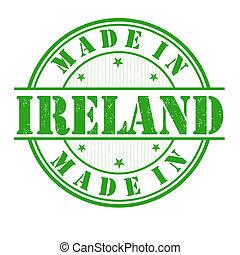 tłoczyć, robiony, irlandia