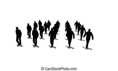 tłum, marsze, 2