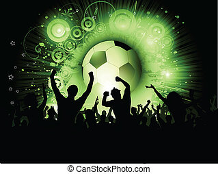 tłum, piłka nożna