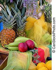 třídění, ovoce