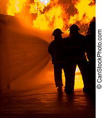 tűz elleni harc