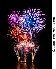 tűzijáték, pazar, bemutatás