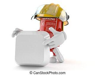tűzoltó készülék, elbocsát, tiszta, betű, kulcs, billentyűzet