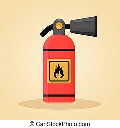tűzoltó készülék, fogalom, tervezés, lakás