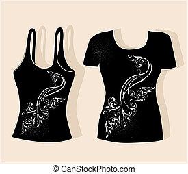 tシャツ, デザイン