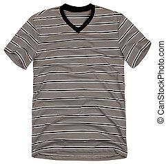 tシャツ, バックグラウンド。, 白, 人, 隔離された