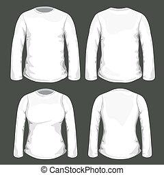 tシャツ, ベクトル, デザイン, テンプレート