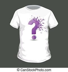 tシャツ, ベクトル, デザイン