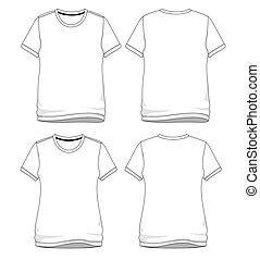 tシャツ, ベクトル