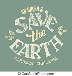 tシャツ, 地球, を除けば, デザイン