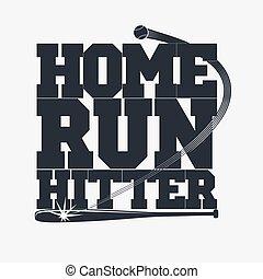 tシャツ, 野球, 紋章
