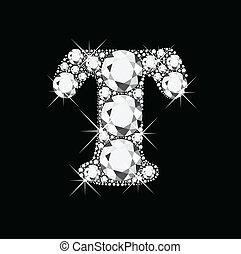 t, ダイヤモンド, 手紙