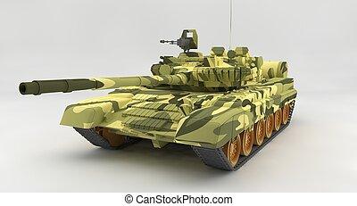 T-80 3D Tank