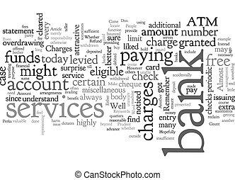 t, bank, begriff, don, hintergrund, perks, konto, text,...