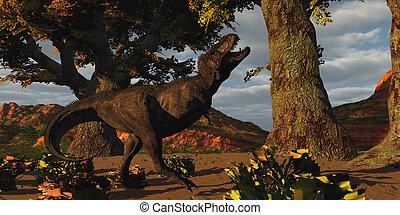 T-Rex Defiance