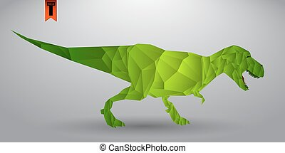 T-rex from triangles
