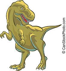 T rex giant lizard dinosaur