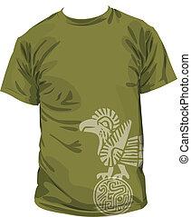 t-shirt, abbildung