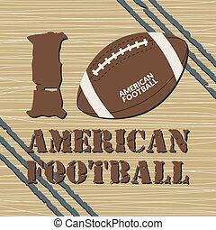t-shirt, amerikaan voetbal