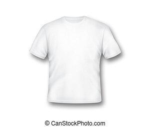 t-shirt, bianco