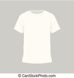 t-shirt, branca, homens